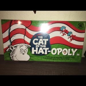 The Cat In The Hat Sealed Monopoly